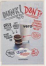 2010 magazine ad Kraft Foods OREO CAKESTERS cookies clipping advert print