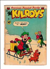 The Kilroys No.40  : 1952 :   : Ice Skating Cover! :