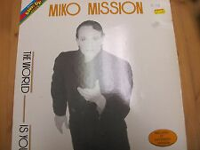 "BU 0039 ITALY 12"" 45RPM 1984 MIKO MISSION ""THE WORLD IS YOU"""