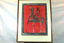"Marino Marini Litho. "" The Rider """