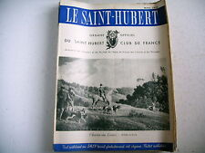 lot 9 revues chasse nature LE SAINT HUBERT 1950 - lot 4