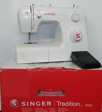 Singer Tradition 2250 Compact Sewing Machine - White (BOXED) IP530