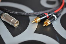 HQ 2 Phono / RCA to Bang & Olufsen (B&O) Naim Quad (5 Pin Din) Cable 1m
