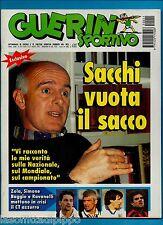 GUERIN SPORTIVO-1995 n.11- SACCHI-ALLODI -FILM C.-INSERTO USA LA DOPPIA