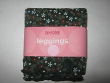 GYMBOREE NWT MOUNTAIN CABIN LEGGINGS HOLIDAY GREEN FLORAL 12 18 months GIRLS NEW