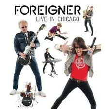 "Foreigner ""Live in Chicago"" BLU-RAY NUOVO"