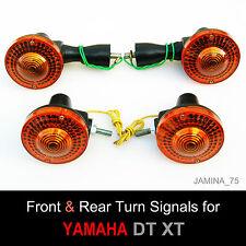 Yamaha DT100 DT125 DT175 DT250 DT400 DT MX Turn Signal Winker Indicator Set 4