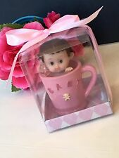 12-Baby Shower Party Favors Girl Decorations Figurines Recuerdos Nina Giveaways