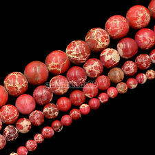 4mm 6mm 8mm 10mm Natural Sea Sediment Jasper Round Beads 16'' Strand