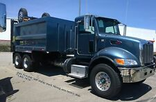 PETERBILT dump truck SUPER strong arm freightliner KW KENWORTH mack tri axle