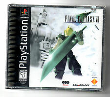 PS1  Final Fantasy VII 7  Brand New Factory Sealed ORIGINAL Black-label Game