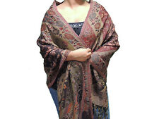 Fashionable Shawl – Floral Kashmir Women Stylish Evening Wrap in Wool