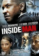 INSIDE MAN (Denzel Washington, Jodie Foster) NEU+OVP