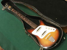 Vintage Kent Guyatone Polaris II Guitar MIJ Made In Japan w/ Original Case