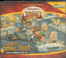 NEW Adventures in Odyssey THE BEST SMALL TOWN #50 4-CD Audio SET Christian FOTF