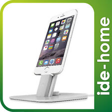 Twelve South HiRise Deluxe for iPhone 6 / 6S, 6 / 6S plus / 5S / iPad - Silver