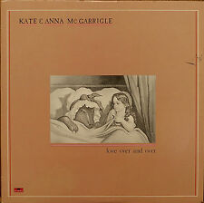 KATE & ANNA McGARRIGLE: Love Over and Over-NM1982LP MARK KNOPFLER