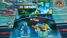 LEGO Dimensions Fun Pack 71214 THE LEGO MOVIE Benny & Benny's Spaceship NEW