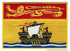 NEW BRUNSWICK FLAG embroidered iron-on PATCH CANADA EMBLEM Canadian Province