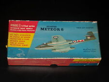 MAQUETTE - GLOSTER METEOR 8 - FROG  - 1/72 -  MODEL KIT -