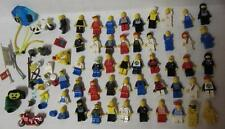 Vintage Lego Classic Space City Police Pirate Castle & More Minifig Mini Fig Lot