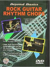 Beyond Basics: Rock Guitar Rhythm Chops Dvd [NTSC], New DVD, ,