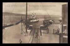 cartolina VILLA SAN GIOVANNI stazione radiotelegrafica ed invasatura ferry-boats