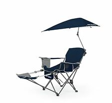 Sport-Brella Recliner Chair | Midnight Blue - Reclining Sport Chair & Umbre