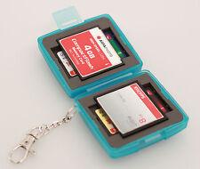 MC-6B Speicherkarten Schutzbox für 4 x SD und 2 x Compact Flash Karten CF Cards
