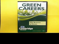 Green Careers - The Business of Green, Cambridge educational DVD video 2010