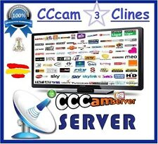 Recomendado - CCCAM 3 CLINES MUY ESTABLES - 100% Votos positivos