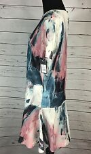 Nwt Mossimo Womens Size Xs Painterly Print Dress Above Knee Dress New