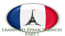 LEARN TO SPEAK FRENCH - LANGUAGE COURSE - 110 HRS MP3 LESSONS + 10 BOOKS ON DVD!