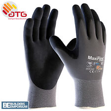 10X ATG MaxiFlex Ultimate Breathable Nitrile Work Glove Size 9L 42-874