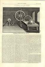 1896 An Early Copying Lathe With Slide Rest 1 Engineering Illustration