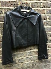 Vintage ALAÏA Leather Jacket Size 40