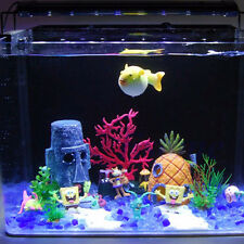 Hot Aquarium Landscaping Decoration SpongeBob House Aquatic Fish Tank OrnamentHU
