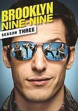 Brooklyn Nine-Nine: Season Three (DVD, 2016, 3-Disc Set)