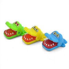 New Crocodile Mouth Dentist Bite Finger Game Keychain Toys For Kids Adult Gift
