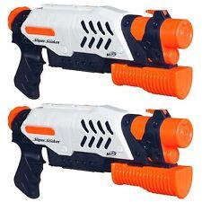 Brand New NERF Super Soaker SCATTER BLAST Blaster ~ Water Pistol 2 PACK
