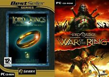 Lord of the Rings The Fellowship of the Ring & war of the ring   new&sealed