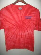 NASA Challenger 7 Space Shuttle Moon Mission Florida Staff Tie Dye T Shirt Large