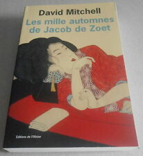 DAVID MITCHELL / LES MILLE AUTOMNES DE JACOB DE ZOET..Edition Originale