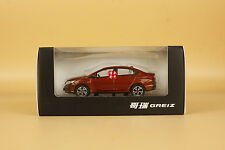 1/43 Honda Greiz diecast model red color
