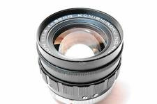 """EXCELLENT+++"" [RARE] KONISHIROKU Hexanon 52mm F1.4 Lens [FREE/SHIP] From Japan"