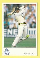 CRICKET - CLASSIC CRICKET POSTCARD - NO. 77  -  INZ - UL - HAQ  OF  PAKISTAN