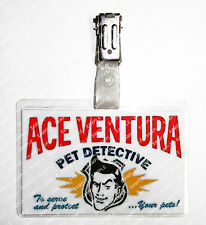 Ace Ventura Pet Detective ID Badge Cosplay Props Costume Fancy Dress Comic Con