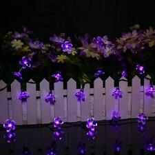 50 LED Solar Power Fairy Light String Lamp #G Party Christmas Xmas Decor Outdoor