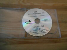 CD Indie Ken - Get A Life (1 Song) Promo STRANGE WAYS disc only