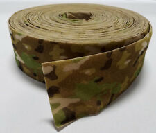 "1 YARD MILITARY GRADE MULTICAM 4"" VELCRO - LOOP SIDE - MADE IN USA"